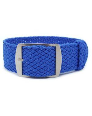 Blue Perlon Watch Strap