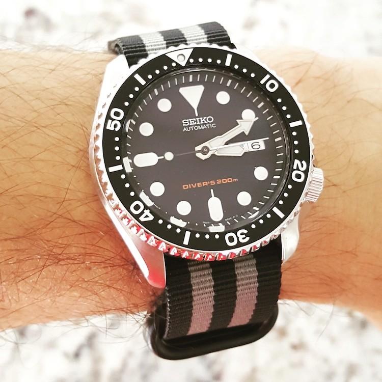SKX007_Bond_Style_Black_Grey_Zulu