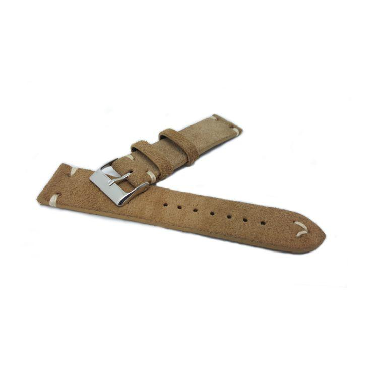 Urban Light Tan Suede Leather Watch Strap