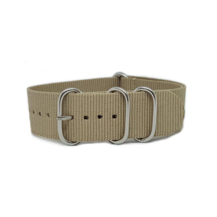 Beige Sand - Zulu Watch Strap