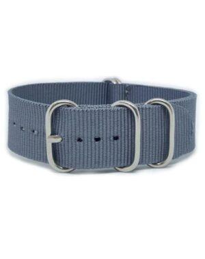 Grey - Zulu Watch Strap