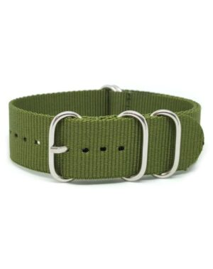 khaki Green - Zulu Watch Strap