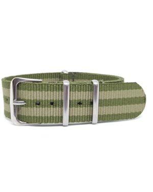 Khaki Green & Olive - NATO Watch Strap