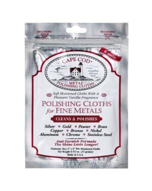 Cape Cod® Metal Polishing Cloths Foil Pouch