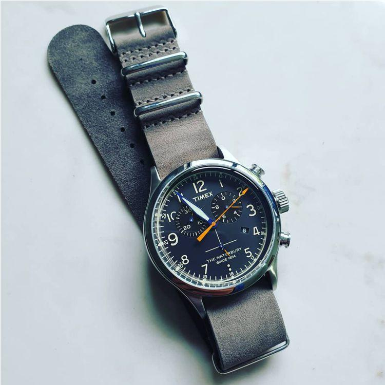 Distressed Grey - Vintage Leather NATO Strap - The Urban Gentleman - Watch  Straps Australia 0e4ae10c9e
