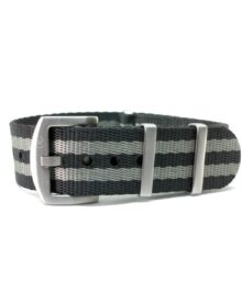 Premium Black & Grey - NATO Watch Strap
