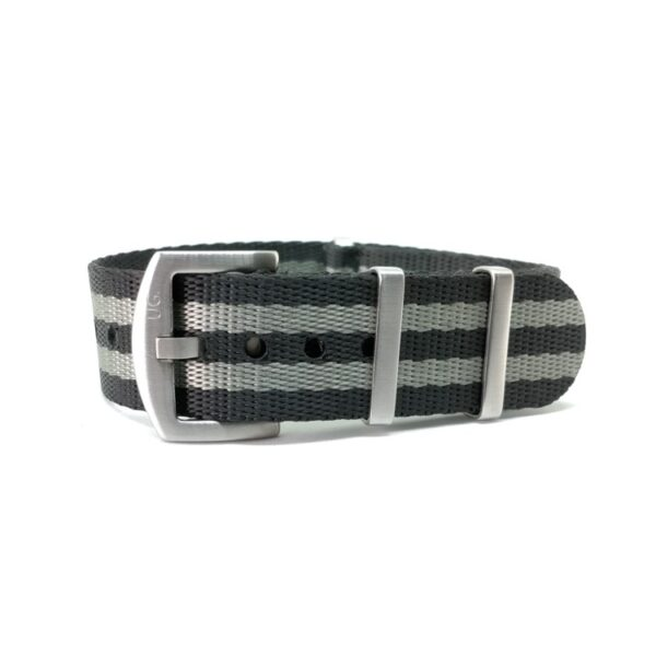 Premium Black & Grey - NATO Watch Strap
