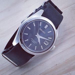 SEIKO SARB033 on Distressed Leather NATO Strap