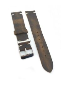 Urban Brown Distressed Leather Watch Strap