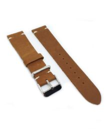 Urban Tan Distressed Leather Watch Strap