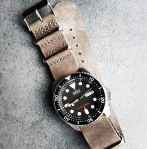 SEIKO SKX 007 Distressed Grey NATO strap The Urban Gentleman Australia