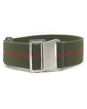Green WIth Red Stripe Marine nationale