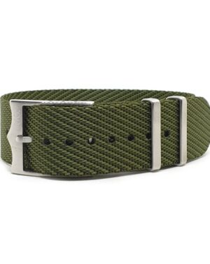 Urban Unico Khaki Green Single Pass Watch Strap