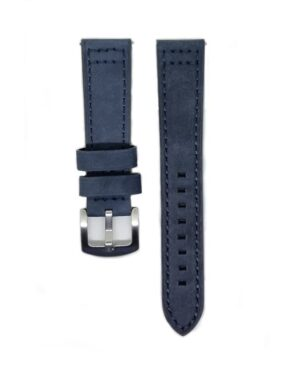 Blue Classico Leather Watch Strap