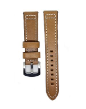 Light_Brown_Classico Leather watch Strap