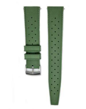 Urban Tropicana Khaki Green Rubber Tropic Watch Strap